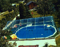 16 x 32 Rectangle Inground Pool Dome 211385