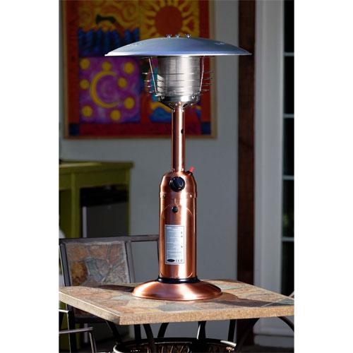 Copper Finish Table Top Patio Heater