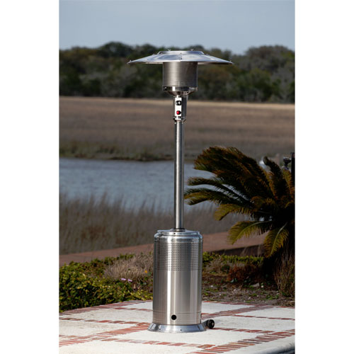 Stainless Steel Pro Series 46,000 BTU Patio Heater