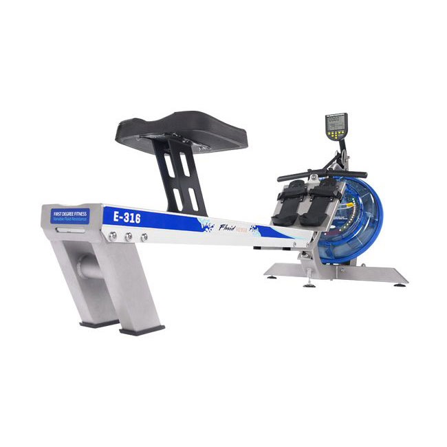 Fluid Rower - E316 Indoor Rower - Silver
