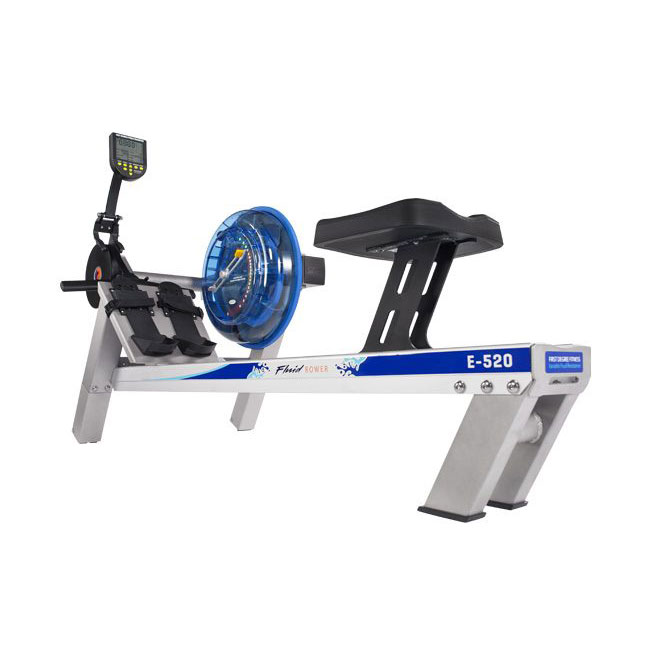 Fluid Rower - E520 Indoor Rower - Silver