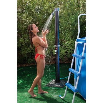 AquaLivin Outdoor Solar Shower with Base