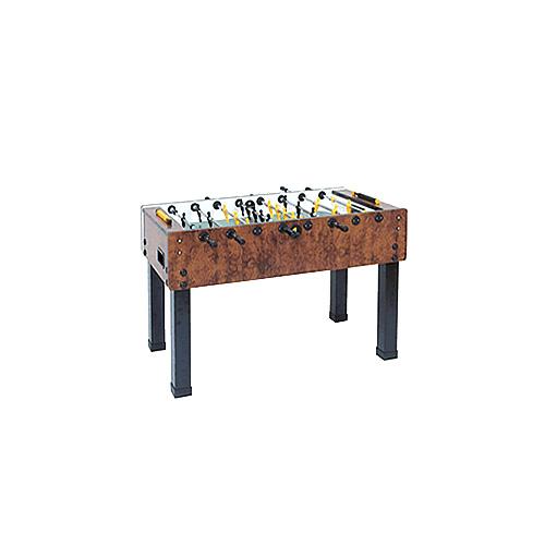 Garlando G-500 Foosball Table - Briar Wood