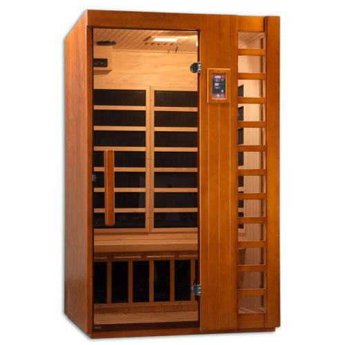 PureTech Near Zero EMF Far Infrared Sauna 2 Person 6 Carbon
