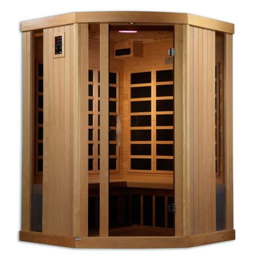 PureTech Near Zero EMF Far Infrared Sauna 3 Person 11 Carbon