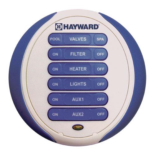 Hayward Waterproof 6 Function Wireless Spa Side