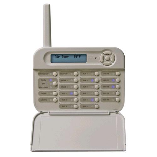 Hayward Aqua & Pro Logic Wireless Wall Mounted Control Pad - White - PS-16