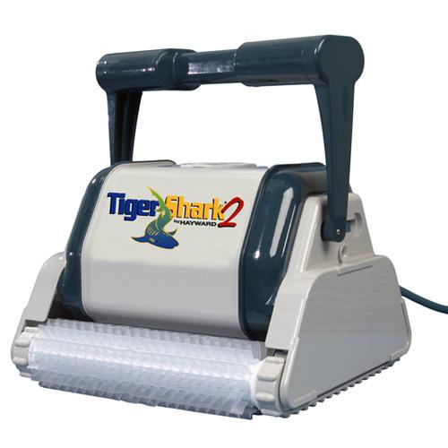 Hayward Tigershark 2 Plus Automatic Robotic Pool Cleaner w/ Caddy