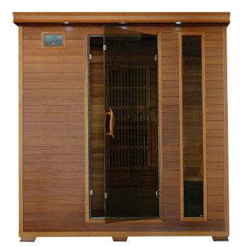 Klondike 4 Person Cedar Heatwave Infrared Sauna