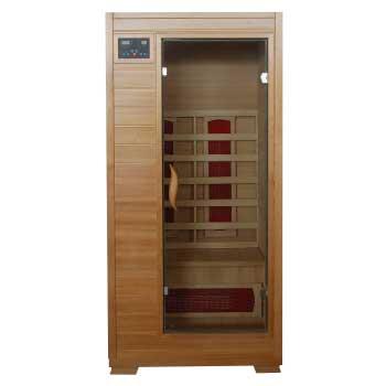 Buena Vista 1 Person HeatWave Infrared Sauna w/ Ceramic Heater