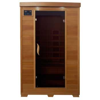 Coronado 2 Person HeatWave Infrared Sauna w/ Ceramic Heater