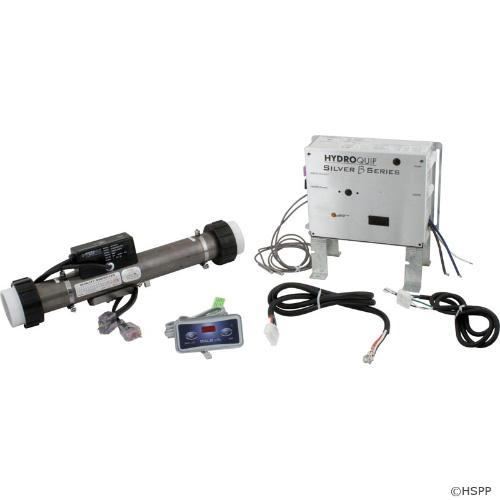 Hydro-Quip Control Silver-B 115v/230v, 4.0kW, Slide, w/Topside