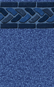 Blue Cabo 28/20 Mil  Inground Liners