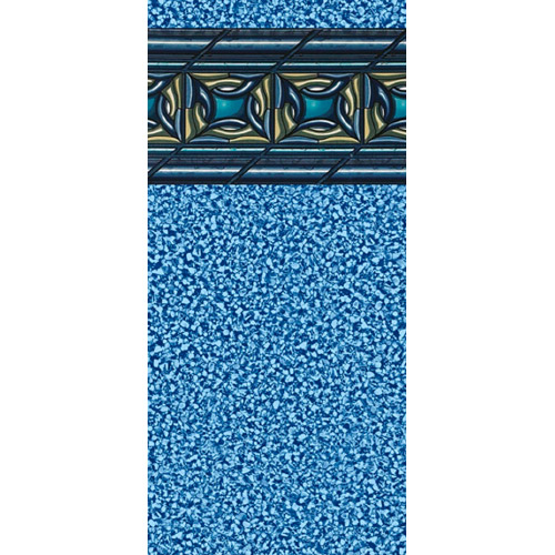 12 X 24 Rectangle Ocean Wave In Ground Replacement Liner