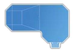 18' x 39' x 22' Steel Grecian True-L Inground Swimming Pool Kit