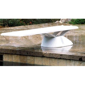 6' Edge Replacement Diving Board - White