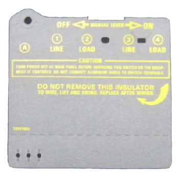 Intermatic Clear Long Insulator Protector
