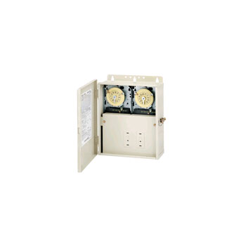 Intermatic Mechanical  w/ Fireman Switch / T104M in Outdoor Enclosure