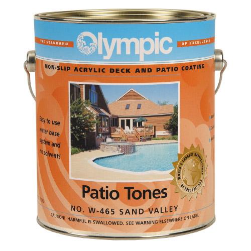 Patio Tones Acrylic Deck Coating - 1 Gallon - White