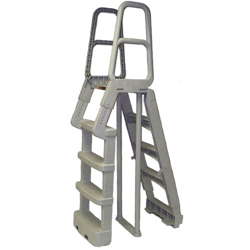Main Access A Frame Resin Ladder - Taupe