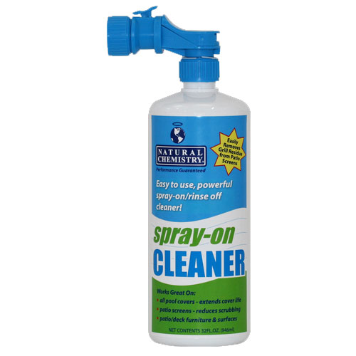 Natural Chemistry Spray On Pool Cover Cleaner - Quart