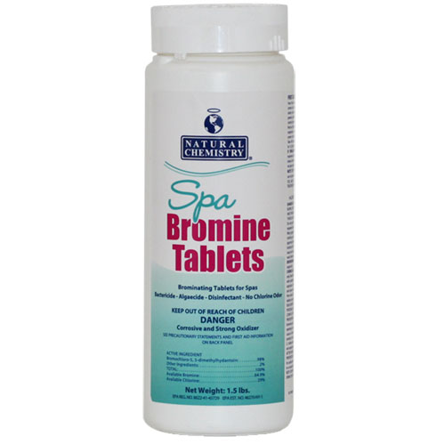 Natural Chemistry Spa Bromine Tablets - 1.5lb