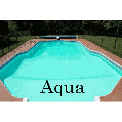 Pool Shield Chlorinated Rubber Pool Paint - 1 Gallon Aqua