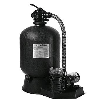 Cristal Flo Ii 22 Quot Sand Filter W 1 5hp Dynamo Pump
