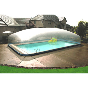 24 X 42 Plastimayd Inground Pool Dome For In Ground Up