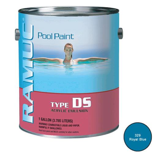 Ramuc Acrylic Damp Set Swimming Pool Paint 1 Gallon