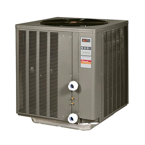Raypak R2350Ti-E 50K Btu Compact Series Digital Pool Heat