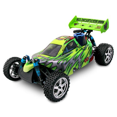 Redcat Tornado S30 Buggy 1/10 Scale Nitro - Red/Green