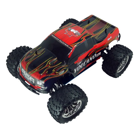 Redcat Volcano S30 Truck 1/10 Scale Nitro Truck - Red/Flame