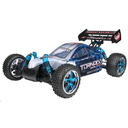 Redcat Tornado EPX PRO Buggy 1/10 Scale Brushless Electric - Blue/Silver