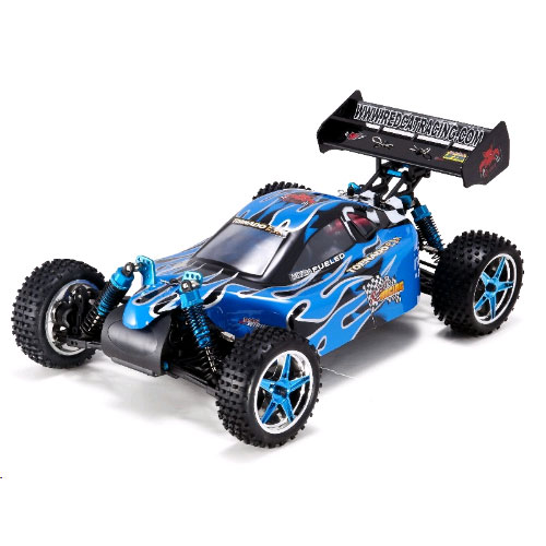 Redcat Tornado EPX PRO Buggy 1/10 Scale Brushless Electric - Blue/Flame