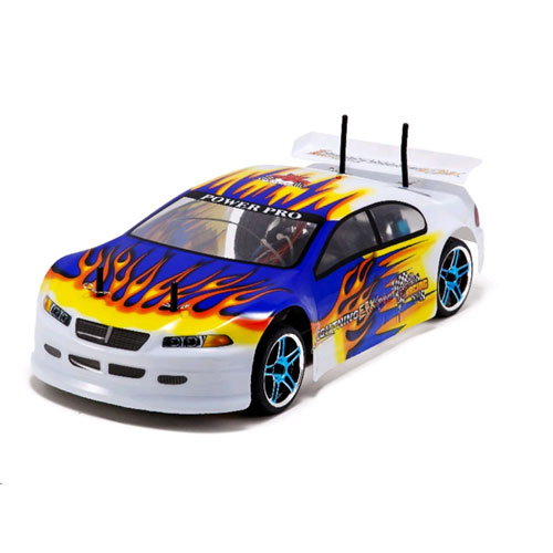 Lightning EPX PRO Car 1/10 Scale Brushless Electric - Blue/Yellow