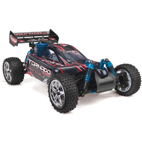 Redcat Tornado S30 Buggy 1/10 Scale Nitro - Red/Silver