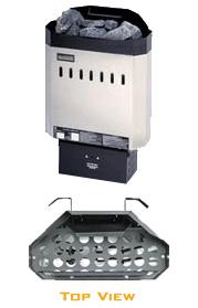 Saunacore Standard KW2 Sauna Heater -120/240v - Wall Mount Controls