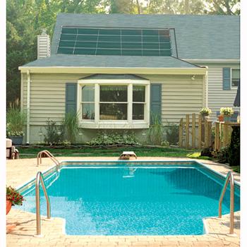 SunHeater Inground Solar Panel (2) 2 x 20 (80sqft) Solar Panel