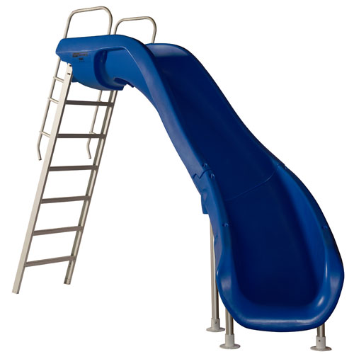 SR Smith Rogue 2 Pool Slide - White - Right Curve