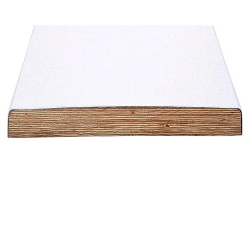 10' Swim Club Commercial Fiberglass Reinforced Wood - White