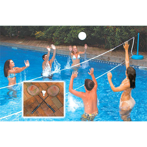 Cool Jam Inground Pool Across The Pool Volleyball