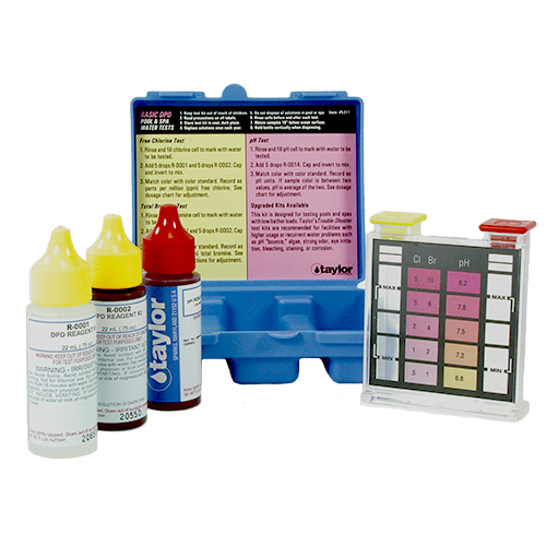 Taylor Basic DPD Test Kit Test: Free Chlorine