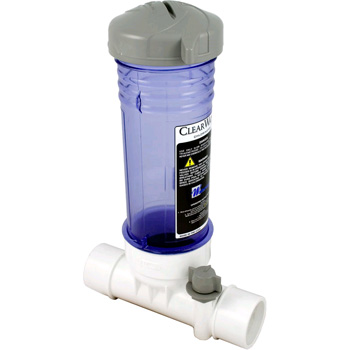 Waterway 12 Tablet In Line Chlorine Feeder Clear Clc012