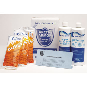Triple Action Chlorine Winterizing Kit - Treats up to 7,500 Gallons