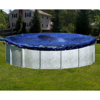 24  Round Deluxe Above Ground Winter Pool Cover - 5yr Warranty
