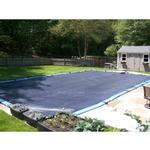 12  x 24  Rectangle Deluxe In-Ground Winter Pool Cover - 5yr Warranty