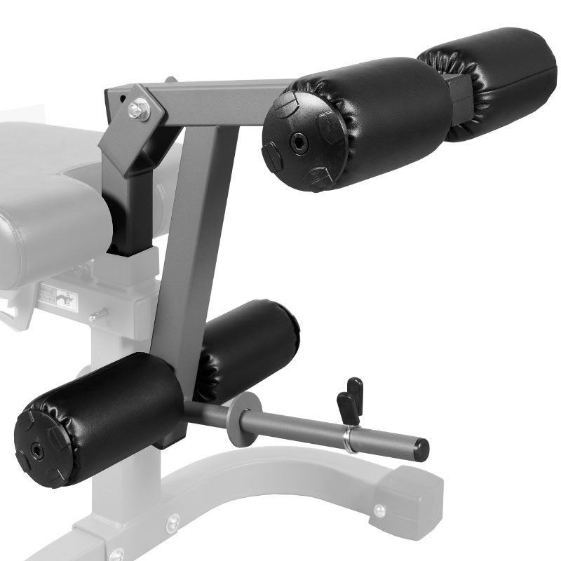 XMark Universal 11-Gauge Adjustable Leg Curl / Extension Attachment