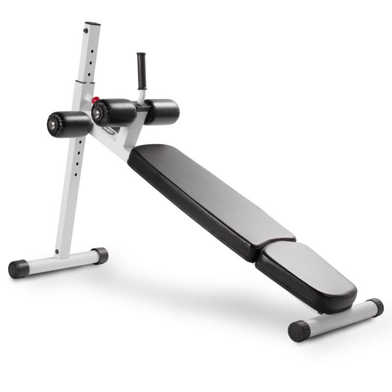 XMark 12 Position Adjustable Ab Bench - White