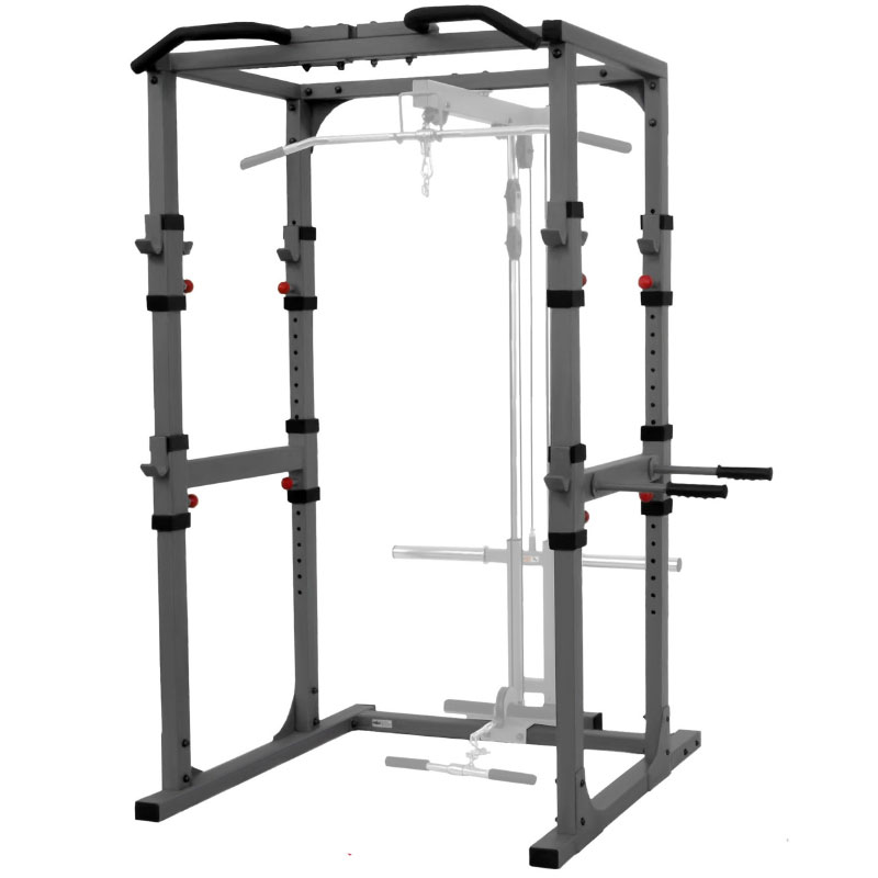 XMark Power Cage with Dip Station and Pull-up Bar
